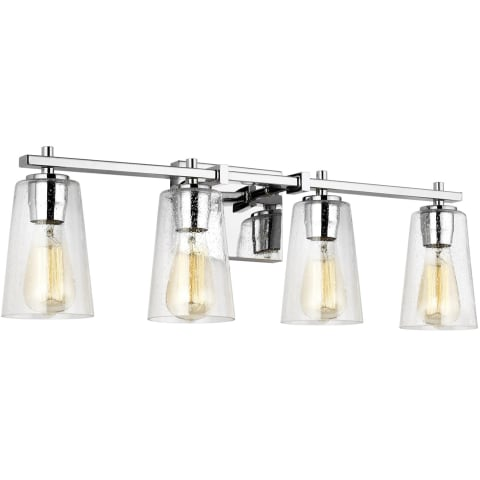 Mercer 4 - Light Vanity Chrome