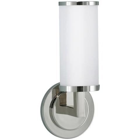 Industrial Revolution 1 - Light Sconce Polished Nickel