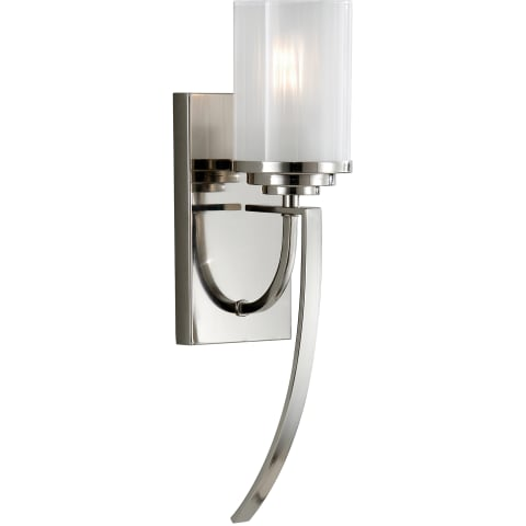 Finley 1 - Light Sconce Polished Nickel