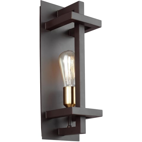 Finnegan 1 - Light Wall Sconce New World Bronze
