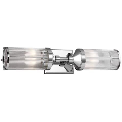 Paulson 2 - Light Vanity Chrome