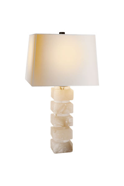 Square Chunky Stacked Table Lamp View All Table Circa Lighting