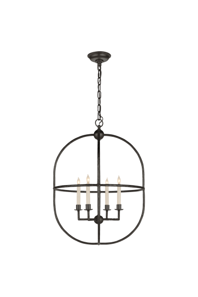 Desmond Open Oval Lantern Designer E F Chapman Circa Lighting