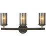 Sfera Three Light Wall / Bath Autumn Bronze Bulbs Inc