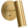 Lancelot Pivoting Light in Hand-Rubbed Antique Brass