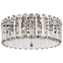 Bonnington Large Flush Mount in Polished Nickel