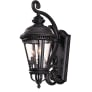 Castle Medium Lantern Black