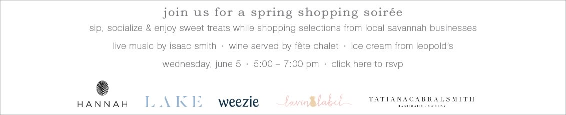 join us for a spring shopping soiree