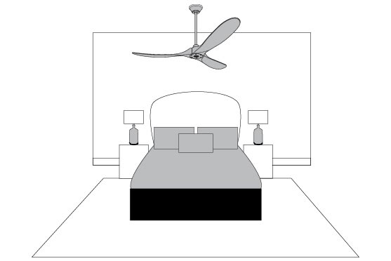 Ceiling Fan Tips - 10' Ceilings