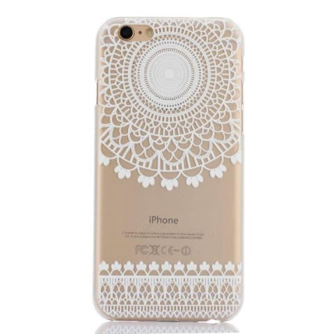 Mandala Case F iPhone 6 / 6S - Transparente