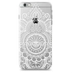 Funda Case Love Mandala A iPhone SE / 5 / 5S - Transparente