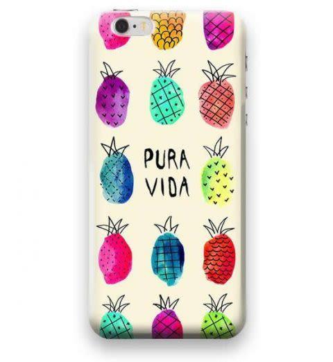 Funda Case Love Piña iPhone SE / 5 / 5S - Multicolor