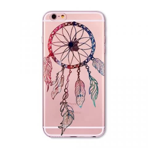 Funda Mandala Color Case F - Transparente