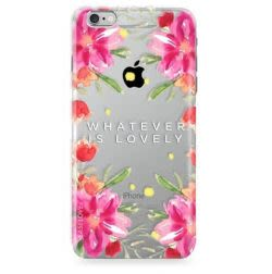 Funda Case Love Lovely - Transparente