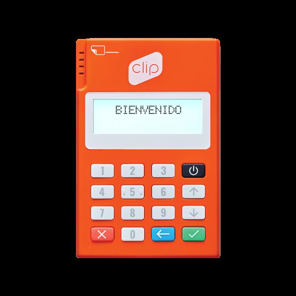 Lector De Tarjetas Con Conexión Bluetooth Clip Plus - Naranja