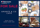 Food, Beverage & Hospitality Business in South Fremantle