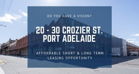 Showrooms / Bulky Goods commercial property for lease at 20-30 Crozier St Port Adelaide SA 5015
