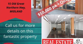 Offices commercial property for lease at 15 Old Great Northern Highway Midland WA 6056
