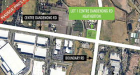 Development / Land commercial property sold at Lot 1 Centre Dandenong Road Heatherton VIC 3202