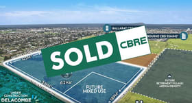 Development / Land commercial property sold at 307 Smythes Road Delacombe VIC 3356