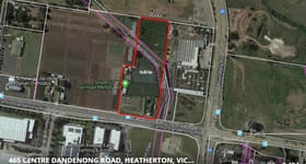 Development / Land commercial property for sale at 455 Centre Dandenong Road Heatherton VIC 3202