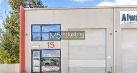 Factory, Warehouse & Industrial commercial property sold at 15/3 Kelso Crescent Moorebank NSW 2170