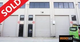 Factory, Warehouse & Industrial commercial property sold at 41/3 Kelso Crescent Moorebank NSW 2170