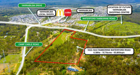 Development / Land commercial property for sale at 1633-1643 Waterford Tamborine Road Logan Village QLD 4207