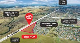 Development / Land commercial property sold at 249 Calder Freeway Taylors Lakes VIC 3038