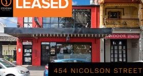 Showrooms / Bulky Goods commercial property for lease at 454 Nicholson Street Fitzroy North VIC 3068