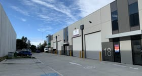 Factory, Warehouse & Industrial commercial property for lease at 18/72 Logistics street Keilor Park VIC 3042