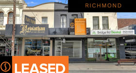 Showrooms / Bulky Goods commercial property for lease at 354 Bridge Road Richmond VIC 3121