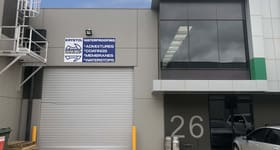 Factory, Warehouse & Industrial commercial property for sale at 26/72 Logistics Street Keilor Park VIC 3042