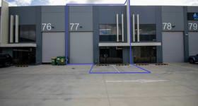 Factory, Warehouse & Industrial commercial property for lease at 77/1470 Ferntree Gully Road Knoxfield VIC 3180