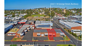 Factory, Warehouse & Industrial commercial property for lease at Unit 7/8 George Street Bunbury WA 6230
