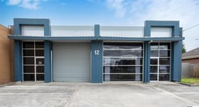 Factory, Warehouse & Industrial commercial property sold at 12 Burton Court Bayswater VIC 3153