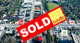 Development / Land commercial property sold at 627-631 Glenferrie Road Hawthorn VIC 3122