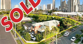 Development / Land commercial property sold at Corner Ferny, Norfolk, Oak and Pine Avenues Surfers Paradise QLD 4217