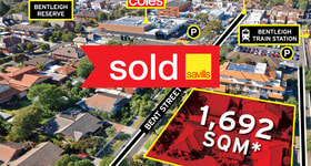 Development / Land commercial property sold at 11-13 Bent Street Bentleigh VIC 3204