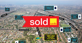 Development / Land commercial property sold at 280-282 Pascoe Vale Road Essendon VIC 3040
