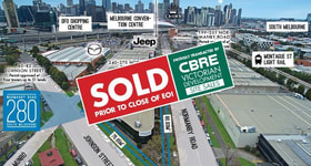 Development / Land commercial property sold at 280 Normanby Road South Melbourne VIC 3205