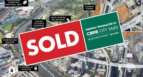 Development / Land commercial property sold at 35-41 & 43-47 City Road Southbank VIC 3006