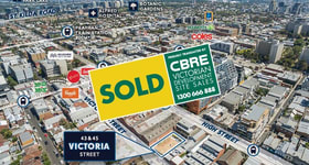 Development / Land commercial property sold at 43 & 45 Victoria Street Windsor VIC 3181