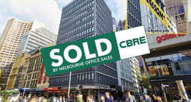Offices commercial property sold at Level 8/343 Little Collins Street Melbourne VIC 3000