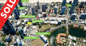 Development / Land commercial property sold at 3 Beach Road Surfers Paradise QLD 4217