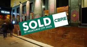 Shop & Retail commercial property sold at 6 Melbourne Place Melbourne VIC 3000
