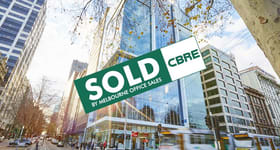 Offices commercial property sold at 8.05/2 Queen Street Melbourne VIC 3000