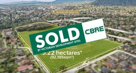 Development / Land commercial property sold at 29Q Norvel Road Ferntree Gully VIC 3156