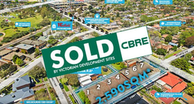 Development / Land commercial property sold at 393-397 Bay Road Cheltenham VIC 3192