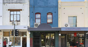 Shop & Retail commercial property sold at 416 King Street Newtown NSW 2042
